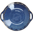 Buy Mikasa Satori Handled Serving Bowl 28cm Seigaiha Border at Louis Potts