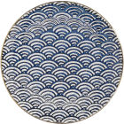 Buy Mikasa Satori Side Plate 22cm Seigaiha Wave at Louis Potts