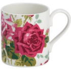 Buy Nina Campbell Rosa Alba Mug Larch Rosa at Louis Potts