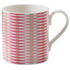 Buy Nina Campbell Teaware Basket Weave Pink Larch Mug at Louis Potts