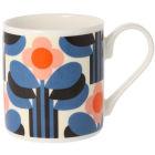 Buy Orla Kiely Mugs Mug Art Deco Orange at Louis Potts