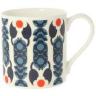 Buy Orla Kiely Mugs Mug Lobster Pot Navy Blue at Louis Potts