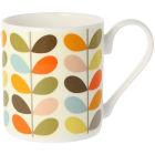 Buy Orla Kiely Mugs Mug Multi Colour Ten Stem at Louis Potts