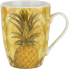 Buy Pimpernel Food and Drink Golden Pineapple Mug at Louis Potts