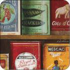 Buy Pimpernel Food and Drink Vintage Tins Coasters Set of 6 at Louis Potts