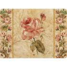 Buy Pimpernel Fruits and Floral Antique Rose Linen Placemats Set of 6 at Louis Potts