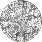 Buy Pimpernel Fruits and Floral Damask Silver Round Placemat Set of 4 at Louis Potts