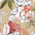 Buy Pimpernel Fruits and Floral Floral Sketch Coasters Set of 6 at Louis Potts
