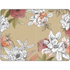 Buy Pimpernel Fruits and Floral Floral Sketch Placemats Set of 6 at Louis Potts