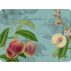 Buy Pimpernel Fruits and Floral RHS Hookers Fruits Teal Placemats Set of 6 at Louis Potts