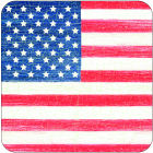 Buy Pimpernel Scenic and Decorative American Flag Coasters Set of 6 at Louis Potts