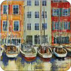 Buy Pimpernel Scenic and Decorative Boat Scene Coasters Set of 6 at Louis Potts