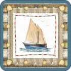 Buy Pimpernel Scenic and Decorative Coastal Breeze Coasters Set of 6 at Louis Potts