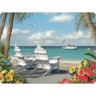 Buy Pimpernel Scenic and Decorative In The Sunshine Large Placemats Set of 4 at Louis Potts