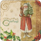 Buy Pimpernel Scenic and Decorative Victorian Christmas Coasters Set of 6 at Louis Potts