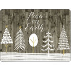 Buy Pimpernel Scenic and Decorative Wooden White Christmas Placemats Set of 4 at Louis Potts