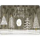 Buy Pimpernel Scenic and Decorative Wooden White Christmas Placemats Set of 6 at Louis Potts