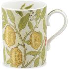 Buy Pimpernel William Morris Fruit Mug Limestone & Artichoke at Louis Potts