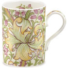 Pimpernel William Morris Golden Lily Mug Olive & Russet