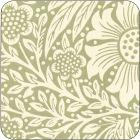 Buy Pimpernel William Morris Marigold Green Coasters Set of 6 at Louis Potts