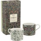 Buy Pimpernel William Morris Mug Set of 2 Willow Bough Green & Blackthorn at Louis Potts