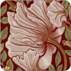 Pimpernel William Morris Pimpernel Red Coasters Set of 6