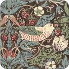 Buy Pimpernel William Morris Strawberry Thief Brown Coasters Set of 6 at Louis Potts