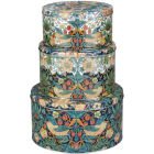 Buy Pimpernel William Morris Strawberry Thief Coloured Cake Tin Set of 3 at Louis Potts
