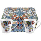 Buy Pimpernel William Morris Strawberry Thief Coloured Mug Pair & Tray Set at Louis Potts