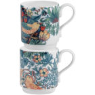 Buy Pimpernel William Morris Strawberry Thief Coloured Stacking Mug Set of 2 at Louis Potts