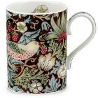 Pimpernel William Morris Strawberry Thief Mug Chocolate & Slate
