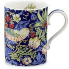 Buy Pimpernel William Morris Strawberry Thief Mug Indigo & Mineral at Louis Potts