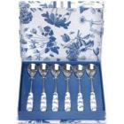 Buy Portmeirion Botanic Blue Tea Spoons Set of 6 at Louis Potts