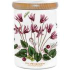 Buy Portmeirion Botanic Garden Airtight Jar 14cm (Cyclamen) at Louis Potts