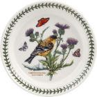 Buy Portmeirion Botanic Garden Birds Plate 20cm (LesserGoldfinch) at Louis Potts
