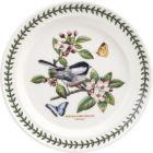 Buy Portmeirion Botanic Garden Birds Plate 25cm (Chickadee) at Louis Potts