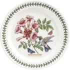 Buy Portmeirion Botanic Garden Birds Plate 25cm (Ruby-ThroatedHummingbird) at Louis Potts
