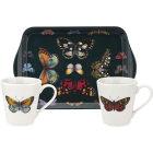 Buy Portmeirion Botanic Garden Harmony Mug Pair & Small Tray Set Harmony at Louis Potts