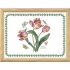 Buy Portmeirion Botanic Garden Lap Tray Pine Effect 44x34cm (PinkParrotTulip) at Louis Potts