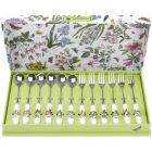 Buy Portmeirion Botanic Garden Pastry Fork & Teaspoon Set at Louis Potts