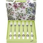 Buy Portmeirion Botanic Garden Pastry Fork Set at Louis Potts