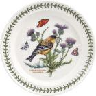 Buy Portmeirion Botanic Garden Plate 25cm (LesserGoldfinch) at Louis Potts
