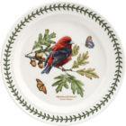Buy Portmeirion Botanic Garden Plate 25cm (ScarletTanager) at Louis Potts