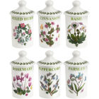 Buy Portmeirion Botanic Garden Spice Jar Set of 6 at Louis Potts