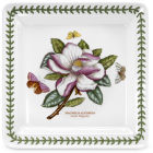 Buy Portmeirion Botanic Garden Square Plate 26.5cm (Magnolia) at Louis Potts
