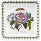Buy Portmeirion Botanic Garden Square Plate 26.5cm (Peony) at Louis Potts