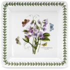 Buy Portmeirion Botanic Garden Square Plate 26.5cm (SweetPea) at Louis Potts