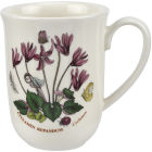 Buy Portmeirion Botanic Garden Tulip Beaker Mug (Cyclamen) at Louis Potts