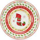 Buy Portmeirion Christmas Wish Tea Plate at Louis Potts