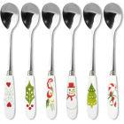 Buy Portmeirion Christmas Wish Teaspoons Set of 6 at Louis Potts